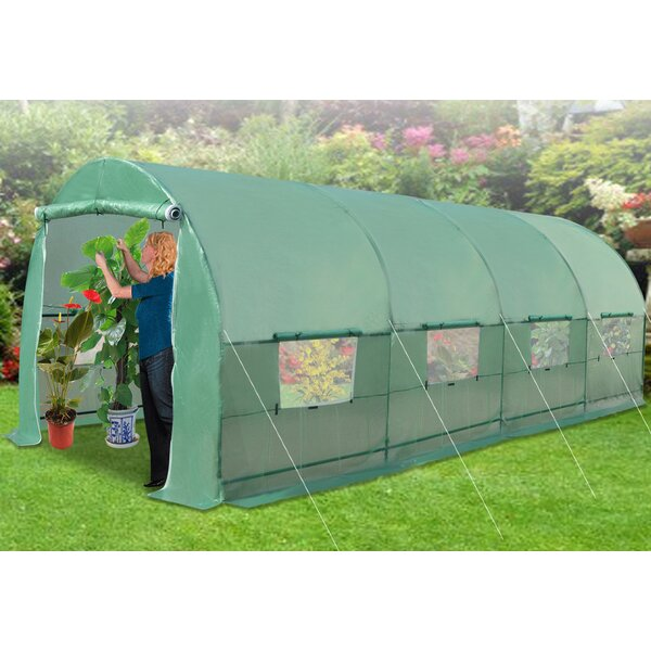 Canopy Gazebo 20 Ft. W x 10 Ft. D Hobby Greenhouse by Strong Camel