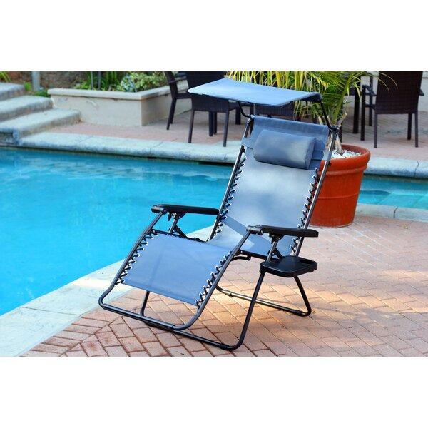 Gillen Folding Zero Gravity Chair by Ebern Designs Ebern Designs