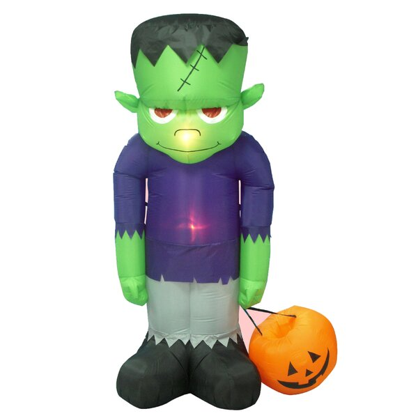 Siegrist Inflatable Frankenstein Decoration by The Holiday Aisle