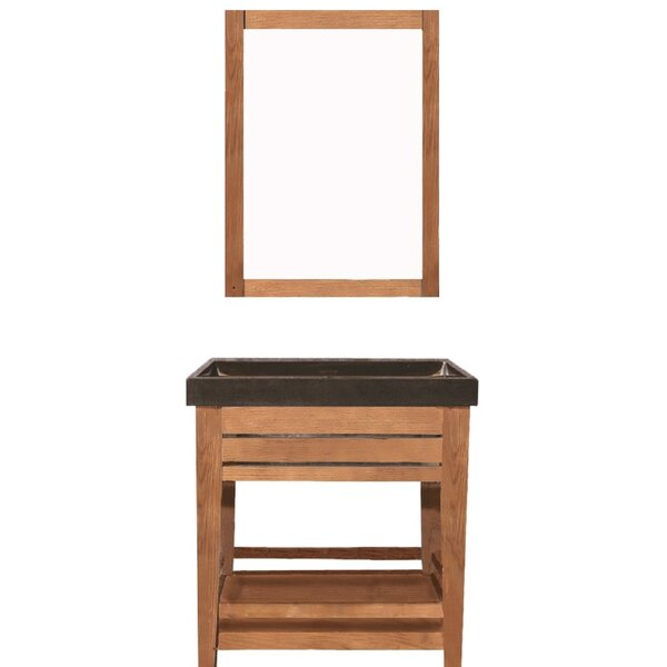Madalyn 31 Single Bathroom Vanity with Mirror by Union Rustic