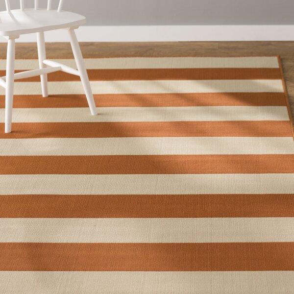 Alford Orange Indoor/Outdoor Area Rug by Andover Mills