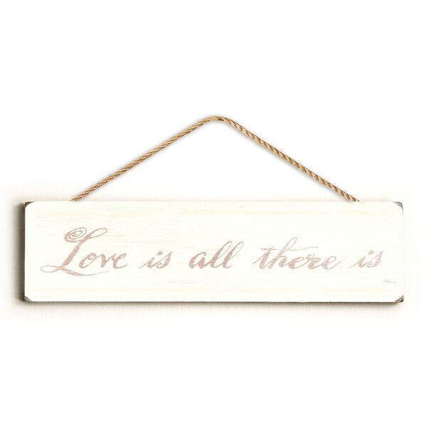 Love Is All There Textual Art by Andover Mills