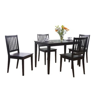 Read Reviews Barryknoll 5 Piece Dining Set by Three Posts