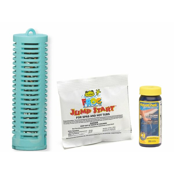 Mineral Buddies Mineral Boss Spa Purifier Starter Pack by Carefree Stuff
