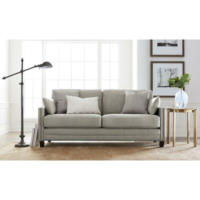 Arm Sofa Square Taupe pic