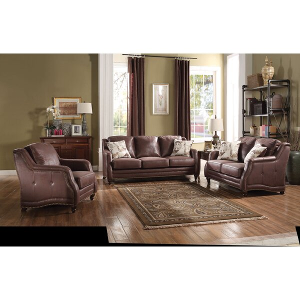 Astoria Grand Lower Failand Configurable 3 Piece Living Room Set Reviews