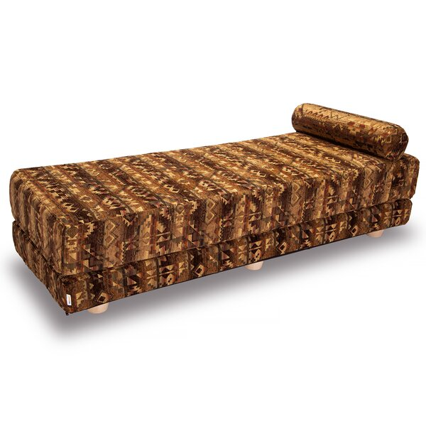 Marilyn Convertible Queen Daybed with Mattress by Loon Peak Loon Peak
