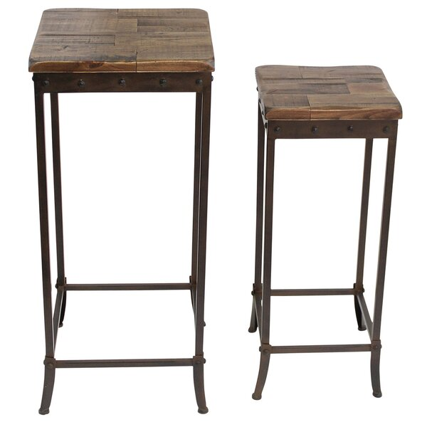 2 Piece Nesting Table Set by !nspire