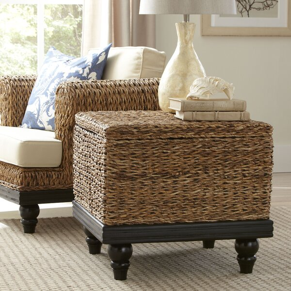 Marilee Woven Side Table by Beachcrest Home