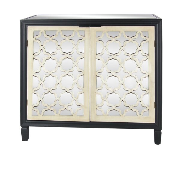 Salyers 2 Door Accent Cabinet by Bungalow Rose Bungalow Rose