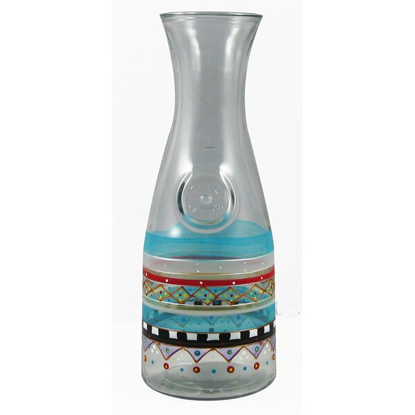 Mosaic Carnival Carafe by Golden Hill Studio