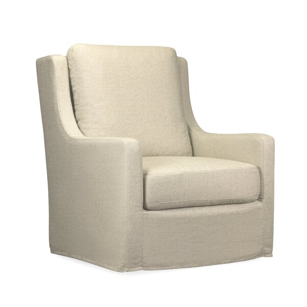 Mcgee Swivel Armchair By Rosecliff Heights