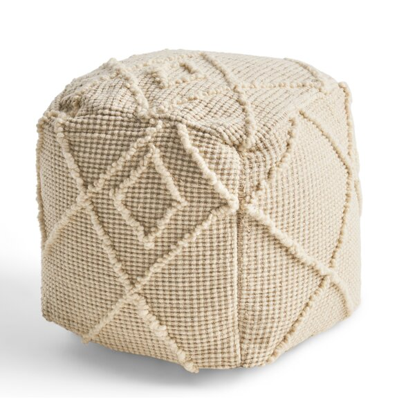 Whitehead Pouf by Bungalow Rose