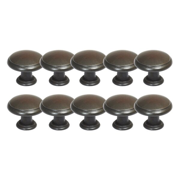Victorian Mushroom Knob Multipack (Set of 10) by Design House