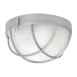 Best Deals Washer Outdoor Bulkhead Light By Breakwater Bay