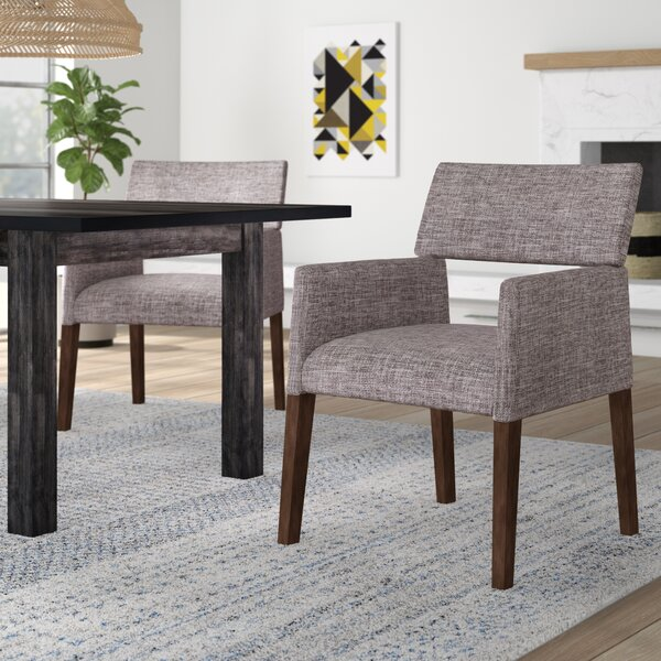Barbee Upholstered Dining Chair (Set of 2) by Ivy Bronx