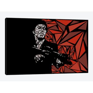 'Scarface' Graphic Art Print on Canvas by East Urban Home