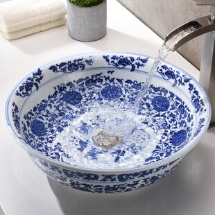 Comparison Cadence Glass Circular Vessel Bathroom Sink By ANZZI