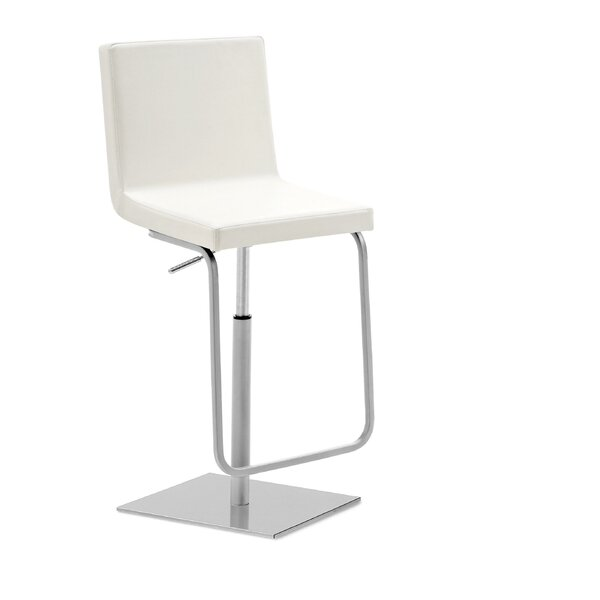 Afro Adjustable Height Swivel Bar Stool by Domitalia