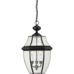 Affordable Mellen 3-Light Incandescent Outdoor Hanging Lantern By Three Posts