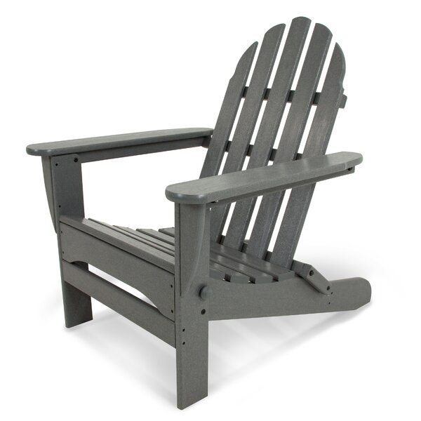Classics Plastic Folding Adirondack Chair by Ivy Terrace