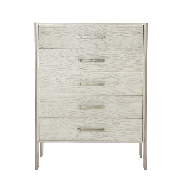 Madigan Tall 5 Drawers Standard Dresser by Bernhardt