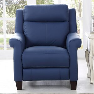 Dolce Leather Power Wall Hugger Recliner by HYDELINE BY AMAX