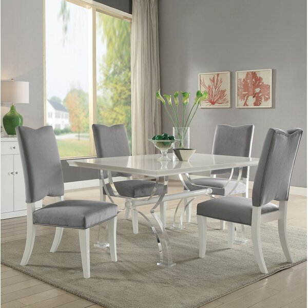 Macalester 5 Piece Dining Set by Rosdorf Park