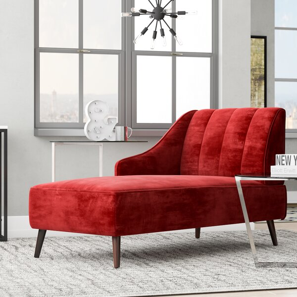 Herbst Chaise Lounge by Wrought Studio