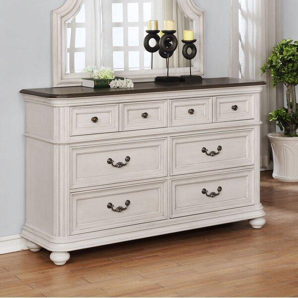 Alisa 6 Drawer Double Dresser by One Allium Way