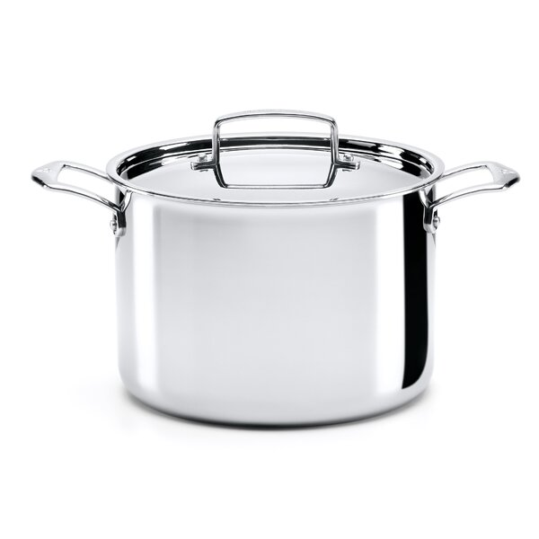 8-qt. Stockpot with Lid by The French Chefs