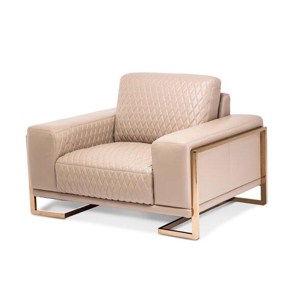 Mia Bella Chair And A Half By Michael Amini