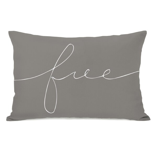 Free Mix and Match Lumbar Throw Pillow by One Bella Casa