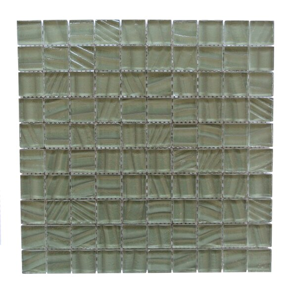 Autunno 1.25 x 1.25 Glass Mosaic Tile in Leap Frog by Abolos