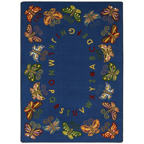 Butterfly Delight Area Rug by The Conestoga Trading Co.