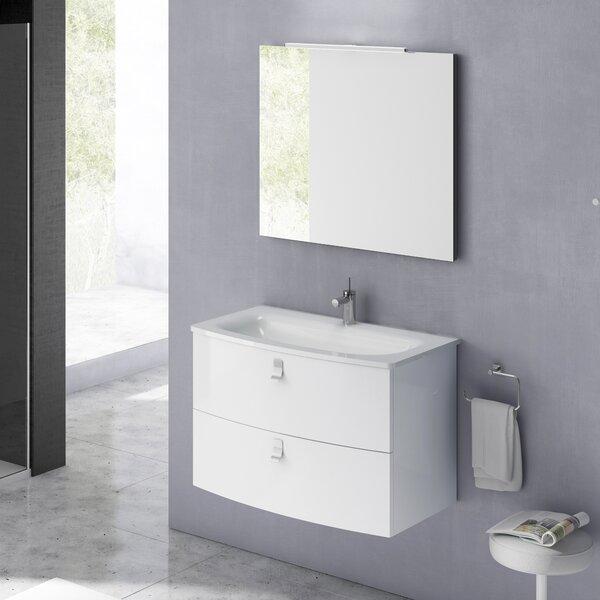 Rondo 39 Single Bathroom Vanity Set with Mirror