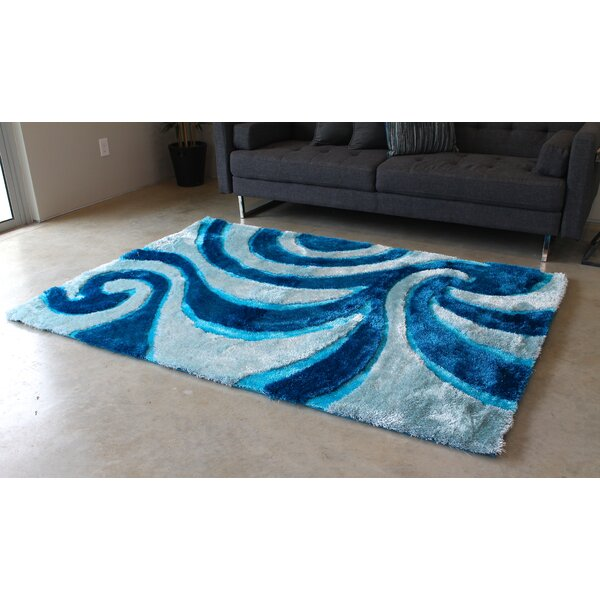 Blue/Gray Area Rug by Blazing Needles