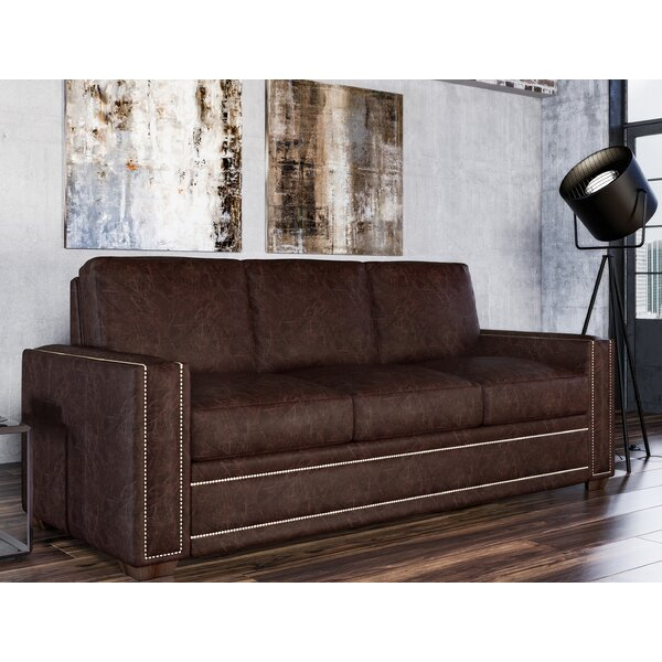 Dallas Leather Sofa by Westland and Birch