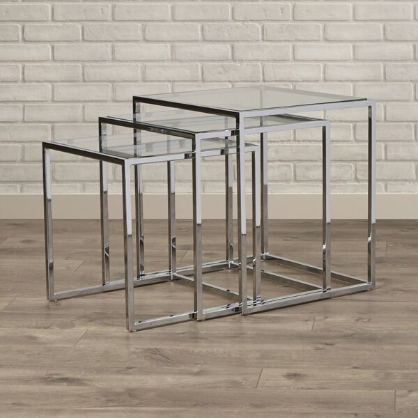 Travis Heights 3 Piece Nesting Tables by Brayden Studio