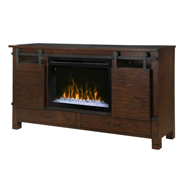 Richter 77 TV Stand with Fireplace by Loon Peak