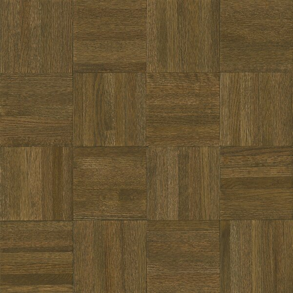 Millwork 12 Solid Oak Parquet Hardwood Flooring in Dovetail by Armstrong Flooring
