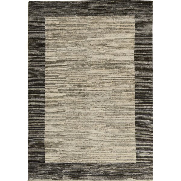 Kaschkuli Hand-Knotted Wool Beige Area Rug by Bokara Rug Co., Inc.