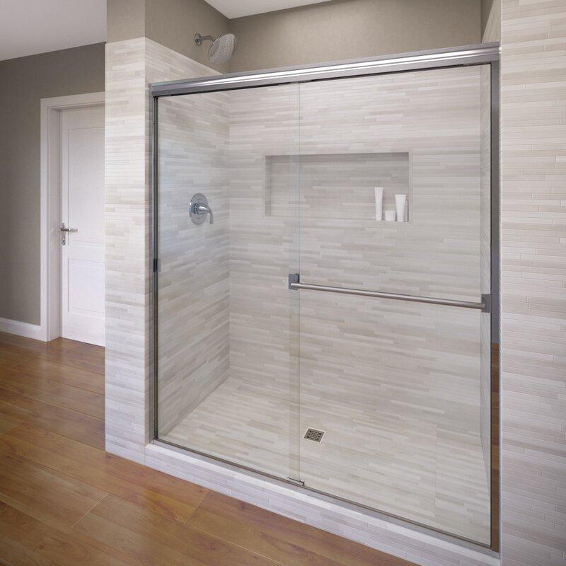 Basco Classic 60 X 70 Bypass Semi Frameless Shower Door Reviews