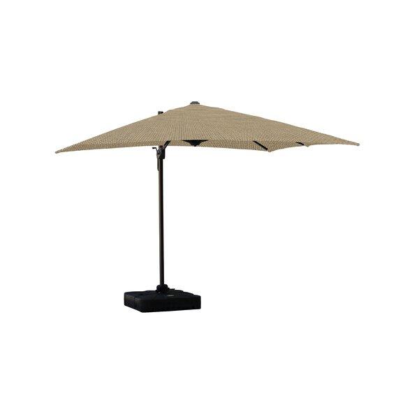 Jarod Lava 10' Square Cantilever Sunbrella Umbrella by Longshore Tides Longshore Tides