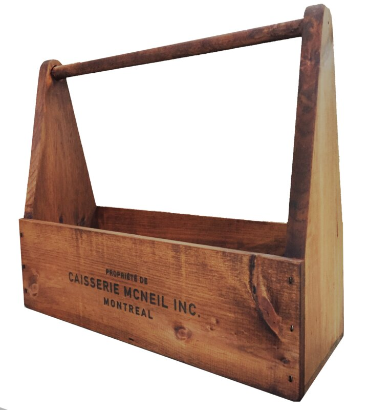 "Old Fashioned 17"" Tool Box"