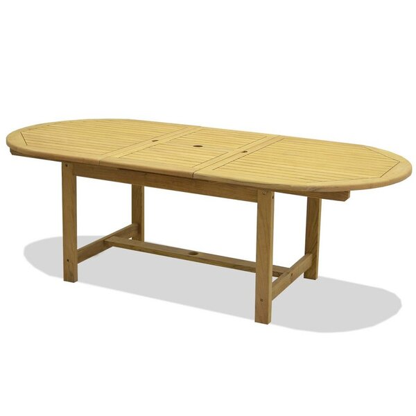 Pulver Drop Leaf Solid Wood Dining Table by Highland Dunes