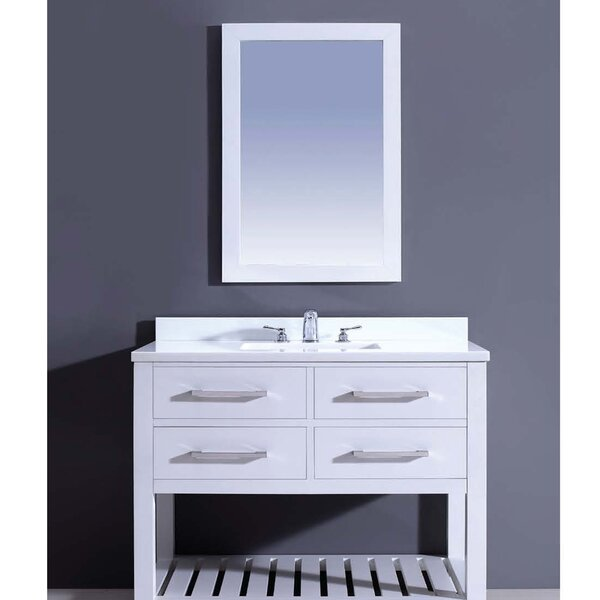 Bohemian 42 Single Vanity Set with Mirror by Dawn USA