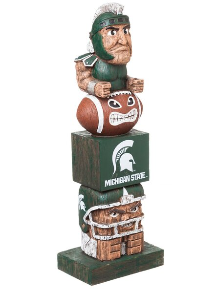 NCAA Tiki Totem Statue by Evergreen Enterprises, Inc