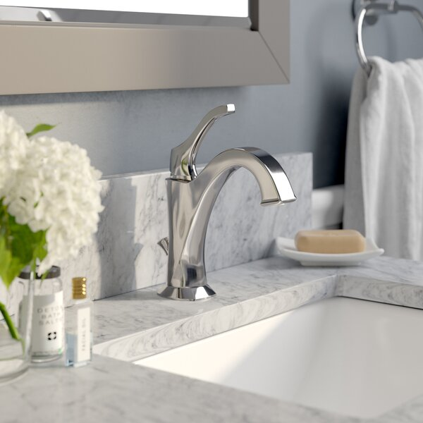Giancarlo Single Hole Bathroom Faucet with Drain Assembly by Red Barrel Studio
