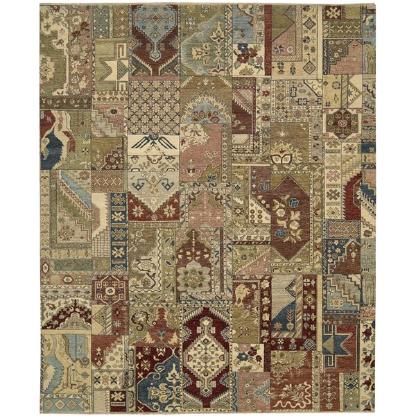 Degory Hand Knotted Multi Area Rug by Darby Home Co